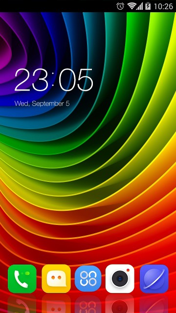Theme for Lenovo A2010 HD