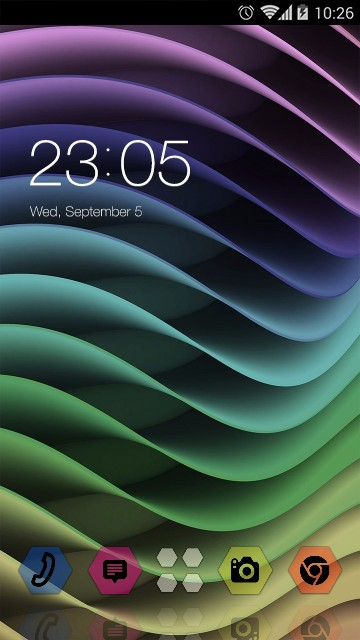 Abstract rainbow theme: Colored Wallpaper