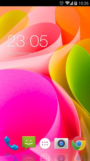 Intex Aqua Power 4G Theme
