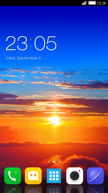 Nature Scene Theme for Lenovo Vibe K5