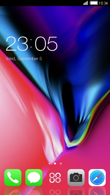 Download wonderful themes for your android phone -- Clauncher