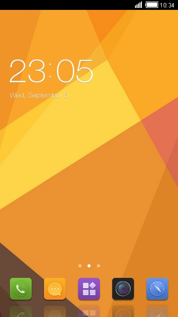 Theme for Gionee Gpad G1