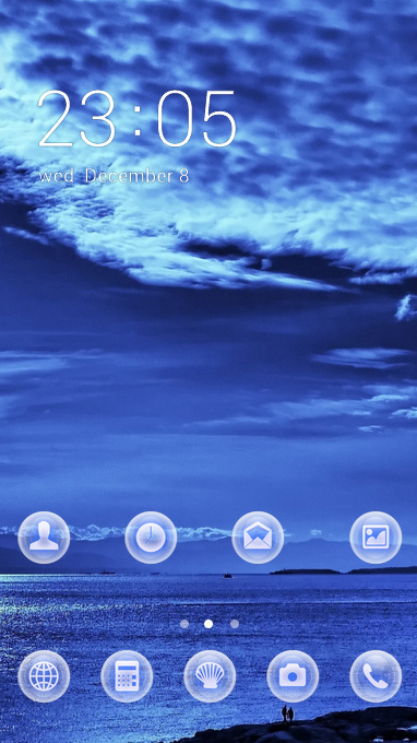 light sky theme