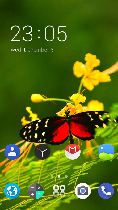 oneplus6 butterfly
