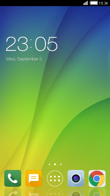 Theme for Oppo F5