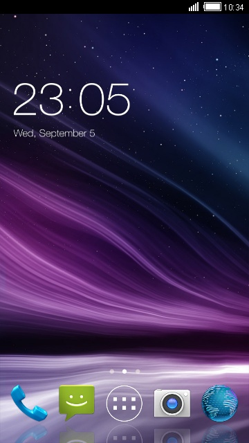 Abstract live Wallpaper for Micromax Bolt A34