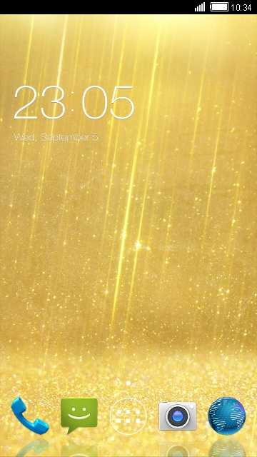 Luxurious Theme for Micromax A30 Smarty 3.0