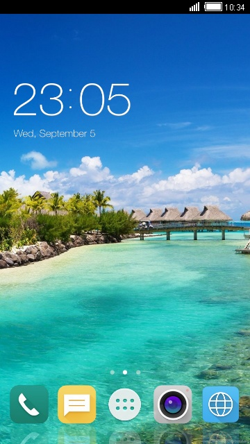 Theme for Oppo N1 landscape wallpaper