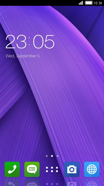 Theme for Asus ZenFone 5