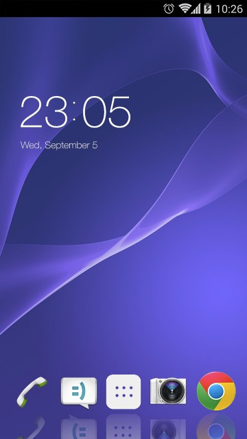 Theme for Sony Xperia T3 HD
