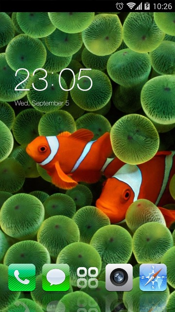 Original iPhone Clownfish