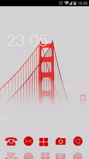 City View Theme Golden Gate Bridge Wallpaper