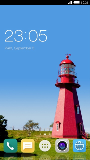 Theme for LG L65 Dual Lighthouse Wallpaper