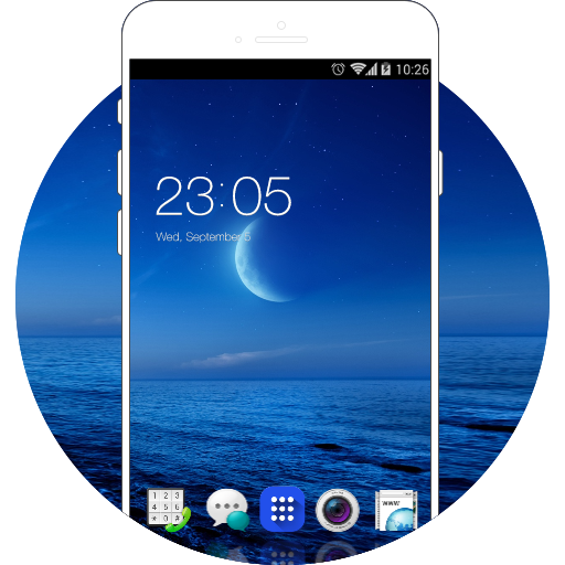 Theme for Oppo Find 7 HD free android theme – U launcher 3D