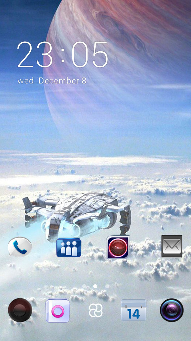 clear planet theme
