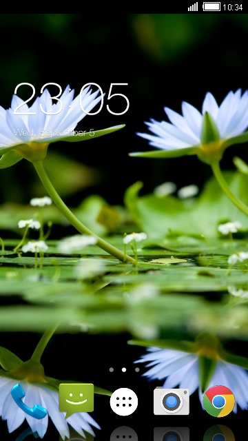 Theme for Karbonn KT61 Nature Wallpaper