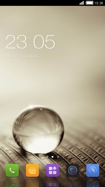 Theme for Gionee T 520