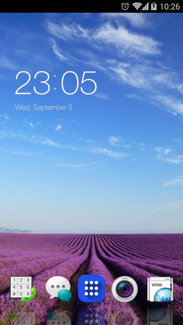 Theme for Oppo Mirror 5 HD