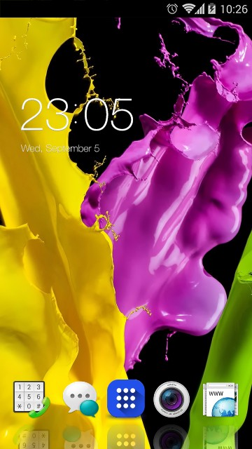 Theme for Oppo R1c HD: Colors