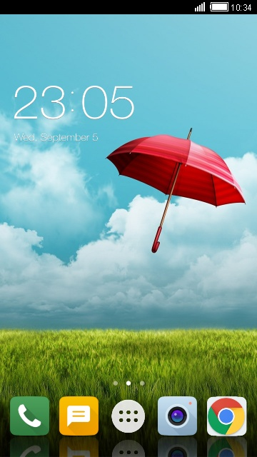 Theme for LG F70