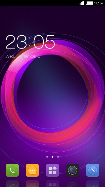 Theme for ZTE Blade D2