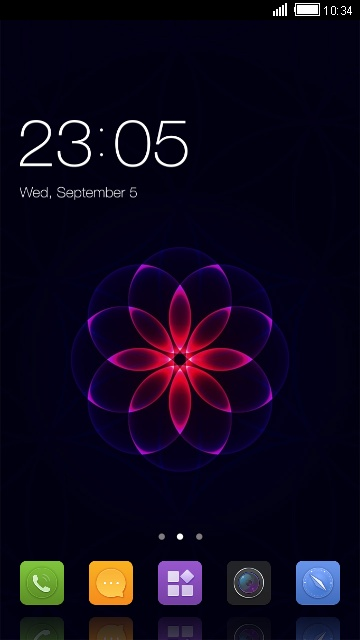Theme for Gionee P5W