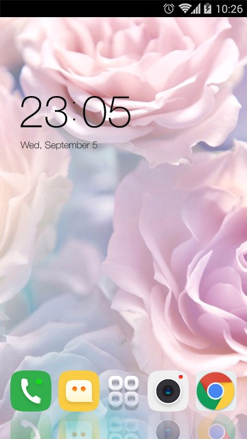 Theme for Coolpad Mega 2.5D HD