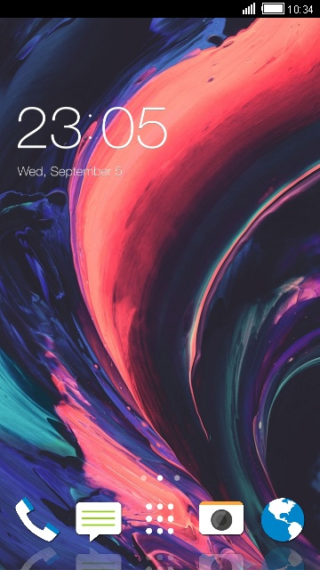 Theme for HTC One X10