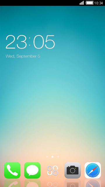 Theme for Oppo F5 Youth