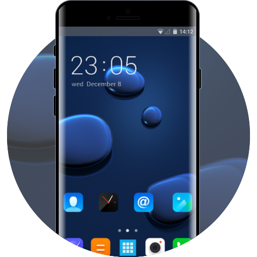 Lenovo K8 Plus free android theme – U launcher 3D