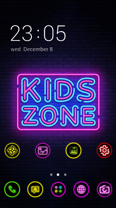 neon light zone