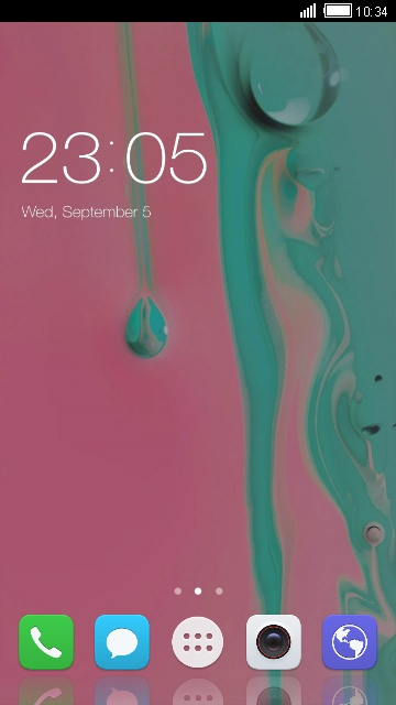 Theme for Huawei Ascend P7