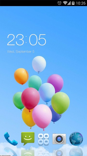 Theme for Intex Aqua Y2 Pro HD