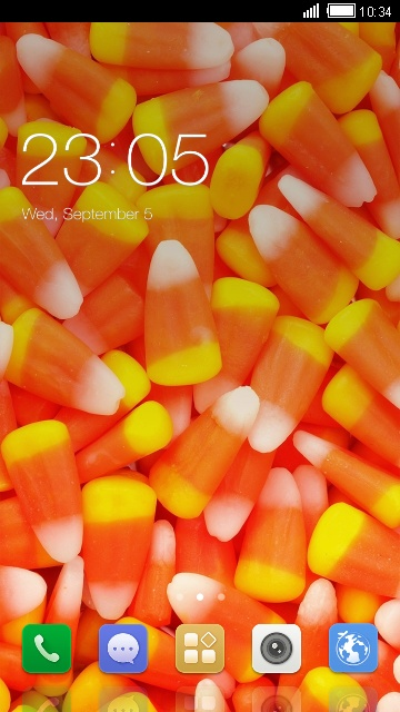 Sweat Candy Theme for Karbonn A111