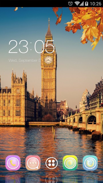 Autumn Big Ben London