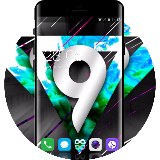 Theme for Huawei Honor 9i HD free android theme – U launcher 3D