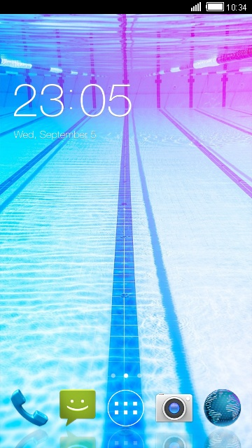 Under Water Live Wallpaper for Micromax Bolt D320