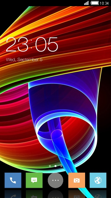 Abstract Neo OxygenOS Theme for OnePlus 2