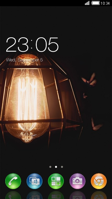 Lamp Live Wallpaper & Theme for Sony Xperia Z
