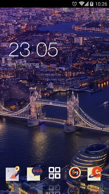 Cityscape Theme London bridge wallpaper
