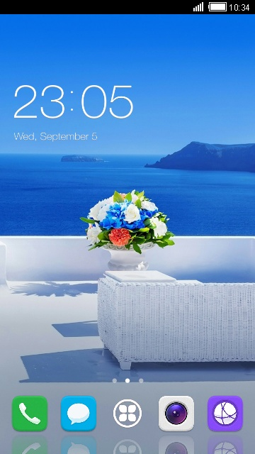 Theme for Huawei New Ideos X5