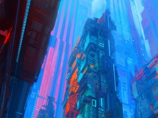 saturation-city-digital-art...