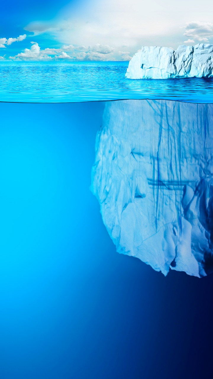 COOL ICEBERG FROZEN LIVE WALLPAPER