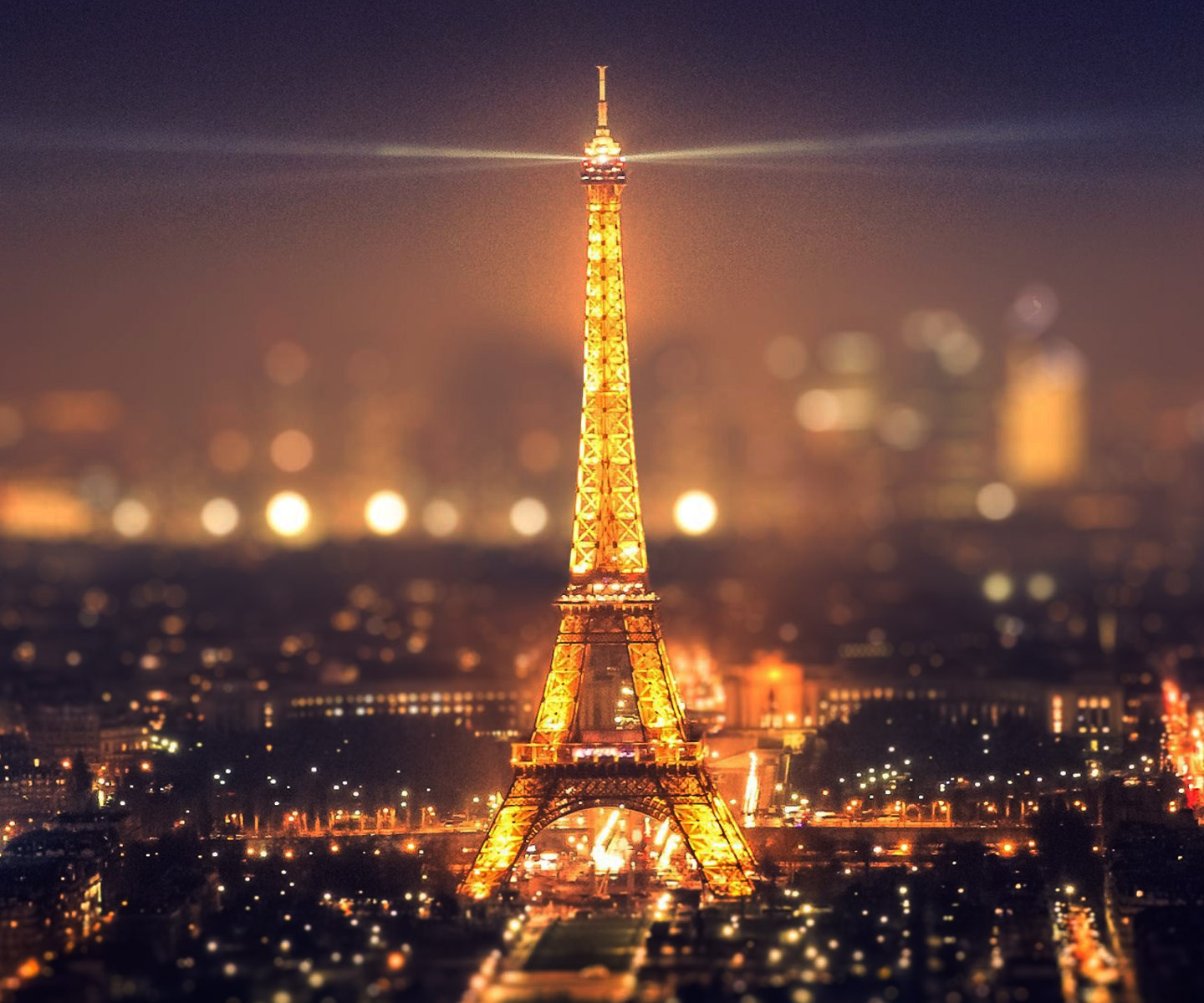 NIGHT VIEW OF PARIS -- Download Free Wallpapers For Your