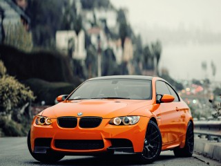 BMW-M3-ORANGE-CAR_1920X1200