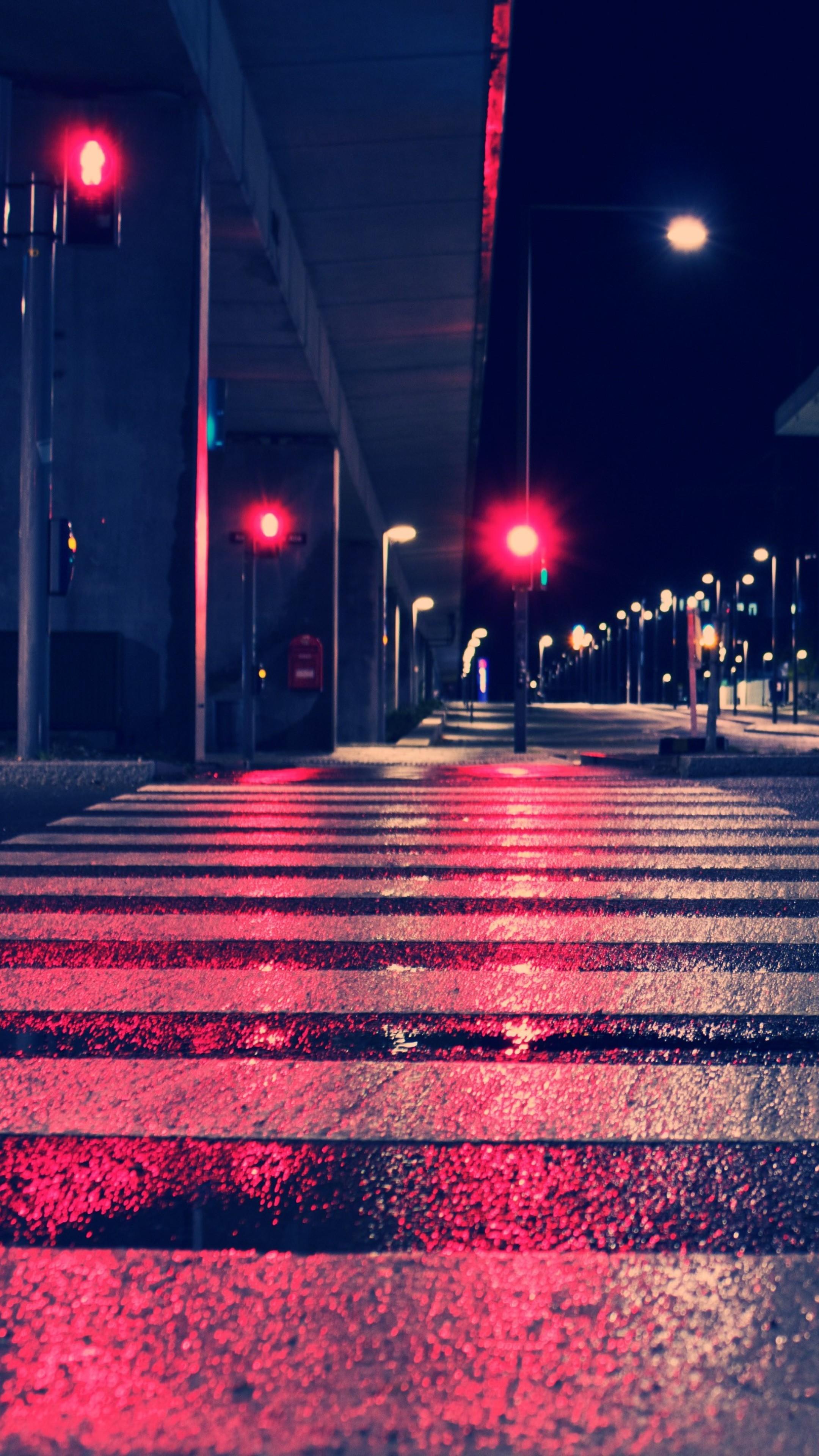 Night City Lights Street 4k Download Free Wallpapers
